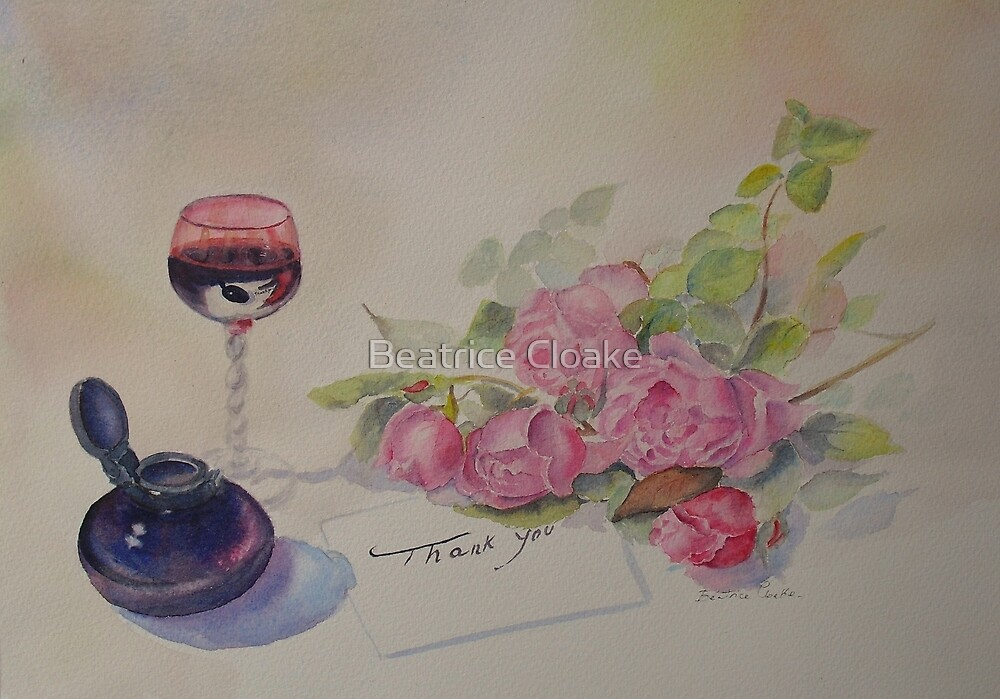 Thank you once more by Beatrice Cloake