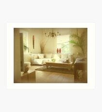 Come sit and relax... Art Print