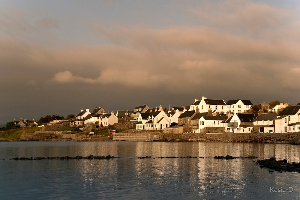 Islay: Evening in Bowmore by Kasia-D