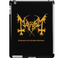 Mayhem - Originators of Northern Darkness (tribute) iPad Case/Skin