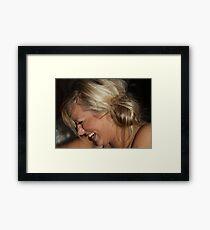 Laughter is the best medicine Framed Print
