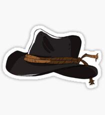 Arthur Morgan hat  Sticker