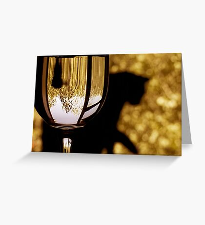 golden moments Greeting Card
