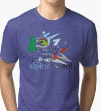alpine alien Tri-blend T-Shirt