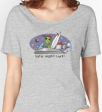 late night surf Women's Relaxed Fit T-Shirt