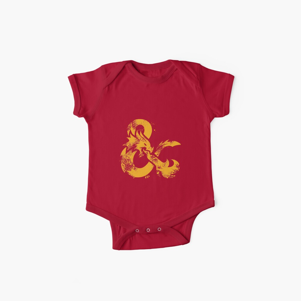 Dungeons & Dragons (Yellow) Baby One-Pieces