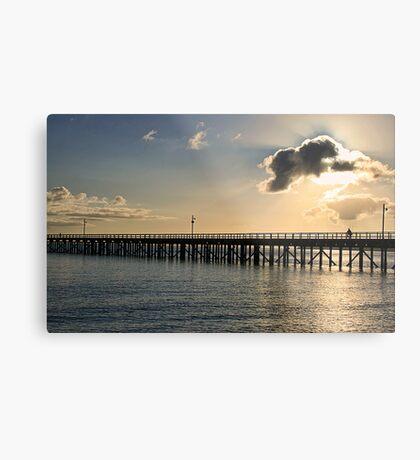 Early Morning at Urangan Pier Metal Print