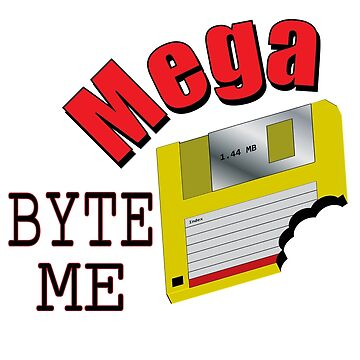 Mega Byte Me by tigressmuse