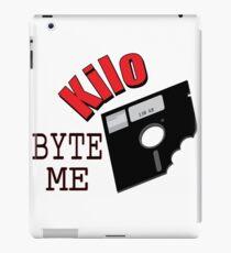Kilo Byte Me iPad Case/Skin