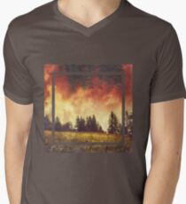 after the rain  V-Neck T-Shirt