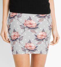 Vintage floral pattern  Mini Skirt