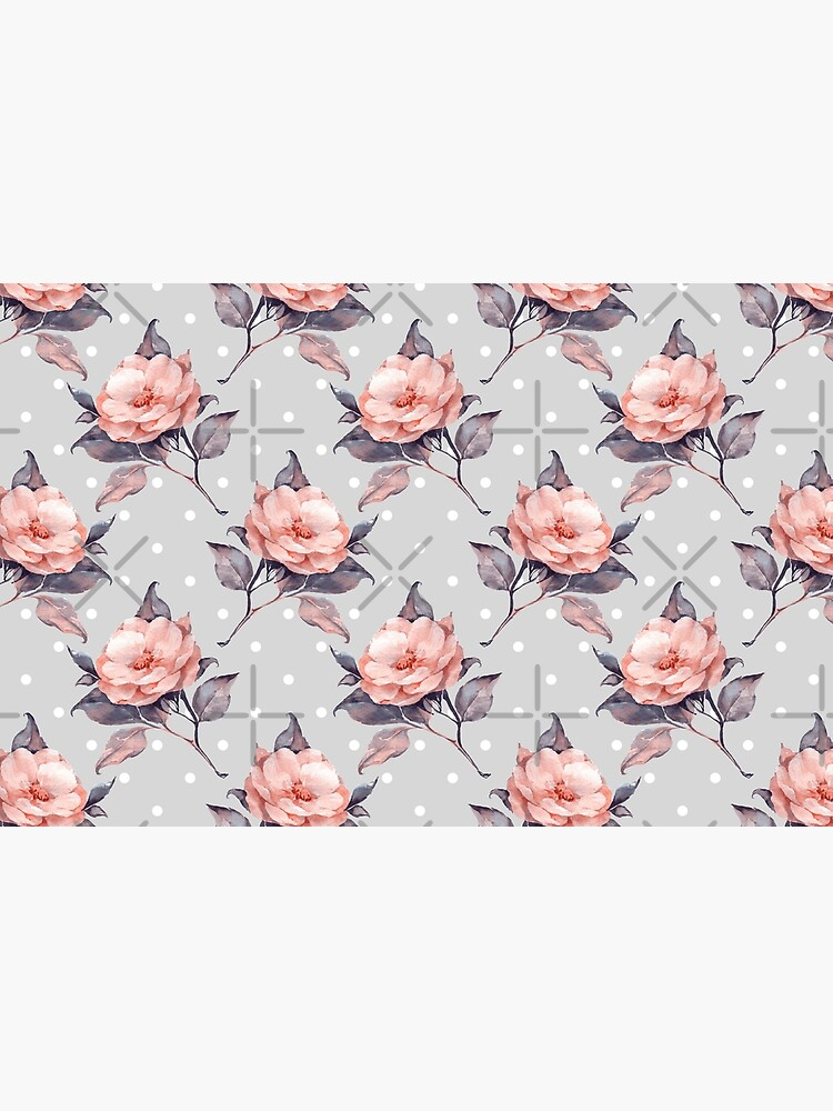 Vintage floral pattern  by Gribanessa