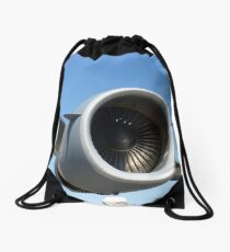 Aircraft Drawstring Bag