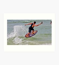 clearwater skimboarding  Art Print