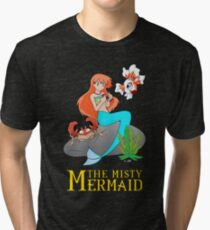 The Misty Mermaid Tri-blend T-Shirt