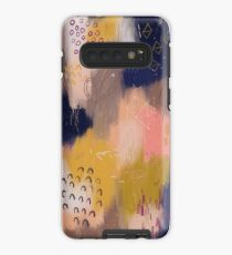 Vernal Abstract  Case/Skin for Samsung Galaxy