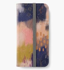 Vernal Abstract  iPhone Wallet/Case/Skin