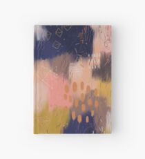 Vernal Abstract  Hardcover Journal