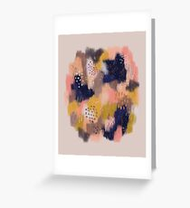Vernal Abstract  Greeting Card
