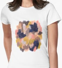 Vernal Abstract  Fitted T-Shirt