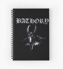 Bathory Spiral Notebook