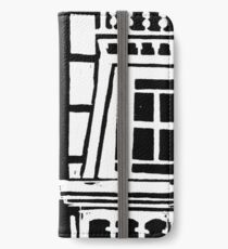 City Landscape Black and White iPhone Wallet/Case/Skin