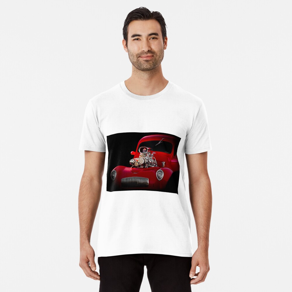 1941 Willys 'Blown' Coupe Premium T-Shirt