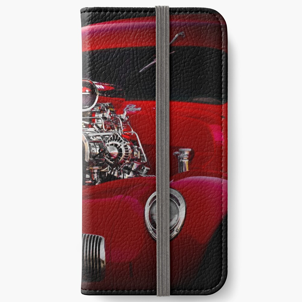 1941 Willys 'Blown' Coupe iPhone Wallet