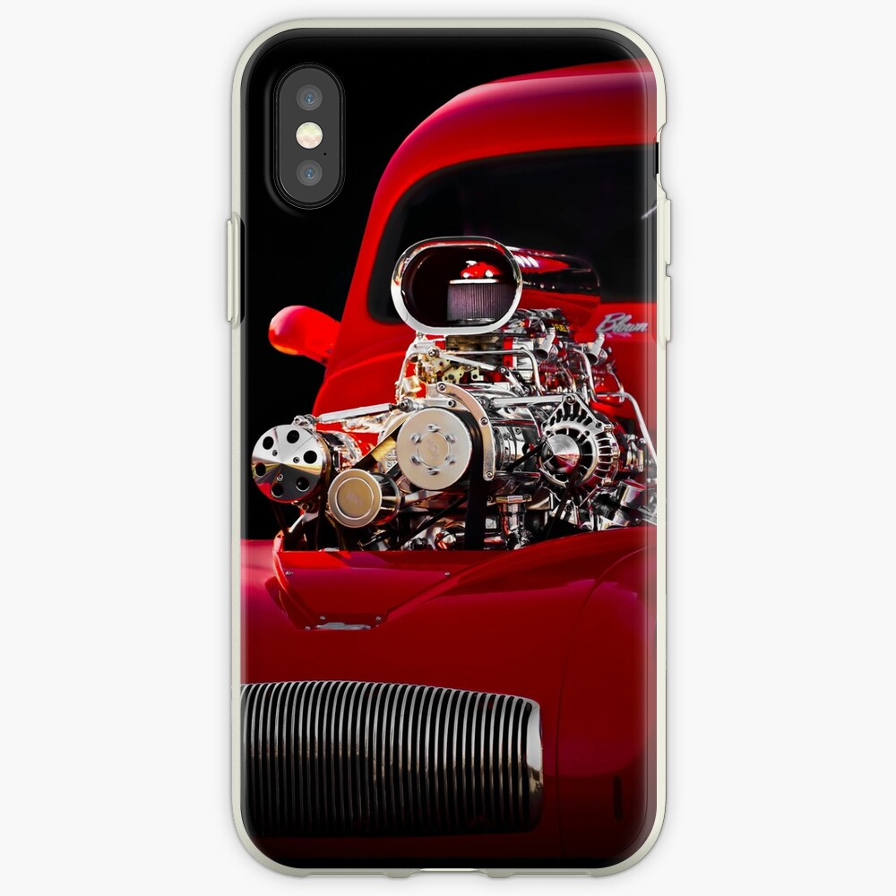 1941 Willys 'Blown' Coupe iPhone Case & Cover