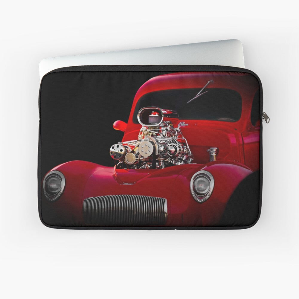 1941 Willys 'Blown' Coupe Laptop Sleeve