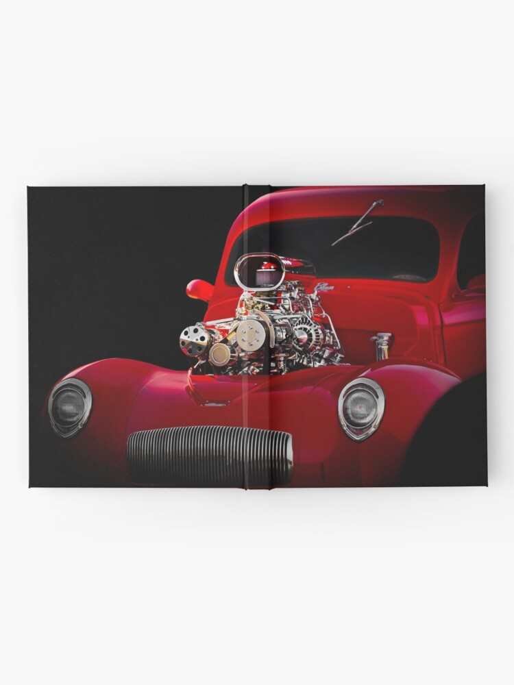 Alternate view of 1941 Willys 'Blown' Coupe Hardcover Journal