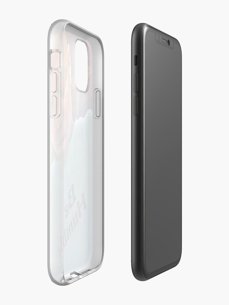 champion coque , Coque iPhone « Être humble », par JLHDesign