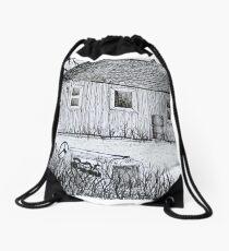 Weekend Camp Drawstring Bag