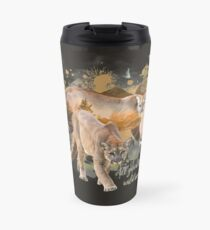 All Good Things are Wild and Free Travel Mug