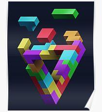 Penrose Tetris Poster