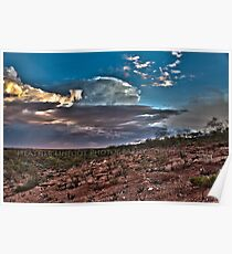 Clouds Over The Hedland Poster