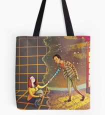 Let's Go - Abed & Annie Tote Bag