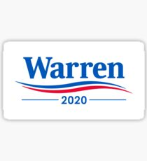 ELIZABETH WARREN 2020 Sticker