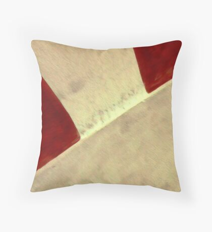 temple wall Throw Pillow