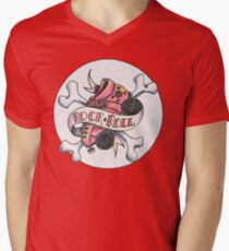 Rock and Roller Derby Men's V-Neck T-Shirt