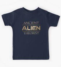 Alter ausländischer Theoretiker Kinder T-Shirt