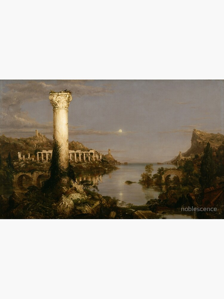 Thomas Cole - Desolation - The Course of Empire by noblescence