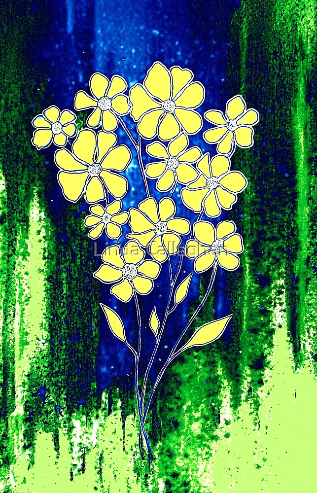 Flowers in Yellow by Linda Callaghan