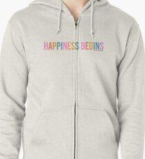 JONAS BROTHERS  happiness begins Zipped Hoodie