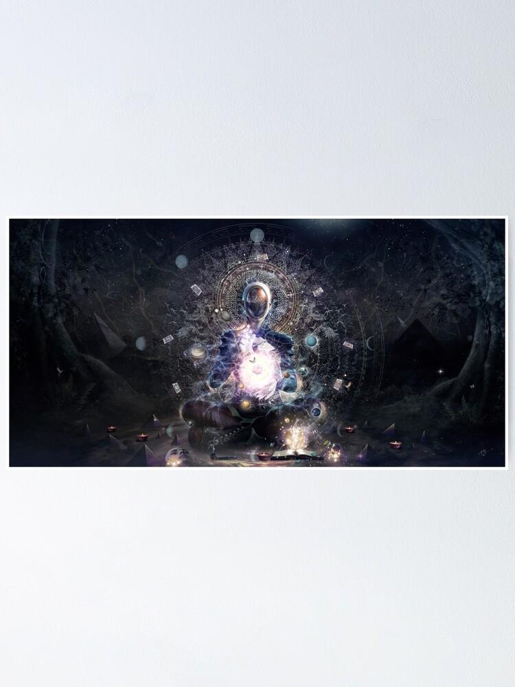 Alternate view of Cosmic Ritual Poster