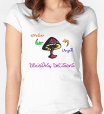 Pick A Side Women's Fitted Scoop T-Shirt