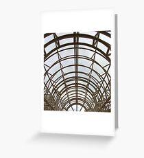 Umberella arch Greeting Card