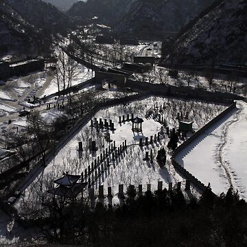 Beijing China Great Wall by alexandersuen