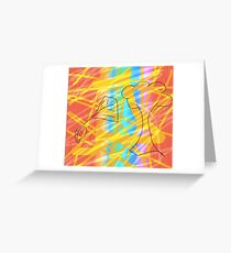 All sparks in nature Greeting Card