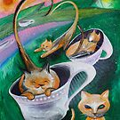 Cats and Tea by Wallace Erhardt Voeks 3
